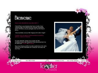 Together organisons votre mariage - Together-mariage.com