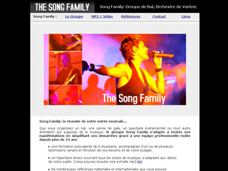 The-song-family.com - Song Family l'orchestre de variété internationale