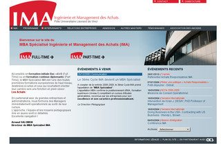 IMA : Formations achats