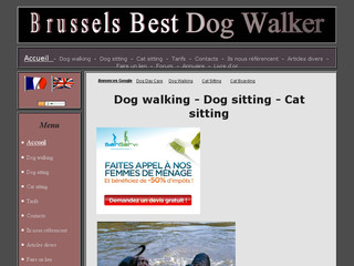 Brussels Best Dog Walker - Dog walking / Dog sitting - Brusselsbestdogwalker.com