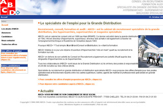 Abcdplus.com - Recrutemenent Grande Distribution