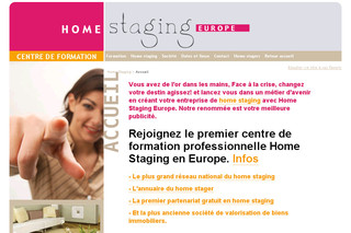 home staging premier centre de formation europ en de home staging. Black Bedroom Furniture Sets. Home Design Ideas