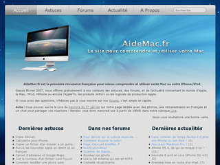 AideMac.fr - Actualité Apple