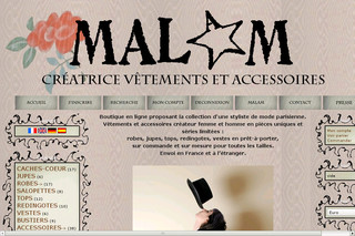 Malam Paris - Collection creatrice de mode - Createur-de-mode.net
