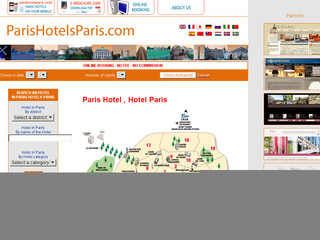 Parishotelsparis.com : Hôtels paris