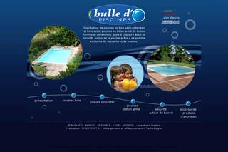 Piscines bulle d 39 o piscine bois b ton for Piscine bulle d o