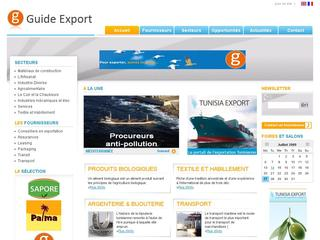 Guide-export.net - Le guide de l'exportation tunisienne