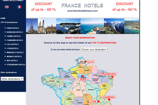 Francehotelsfrance.com : Hôtels à Paris, France