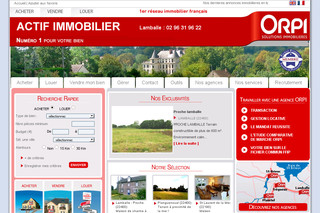 Actifimmo22.com - Agence immobiliere Actif immobilier