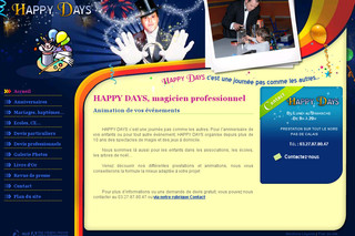 Magic-happydays.com - Spectacle enfant jeu magicien professionnel 62, 59