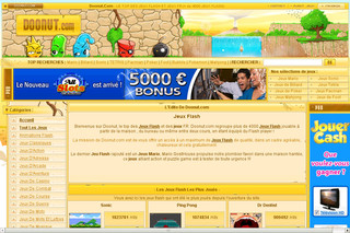 Doonut.com - Jeux en flash