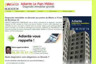 Diagnostic Immobilier Bordeaux avec Adiante-diagnostic-bordeaux.fr