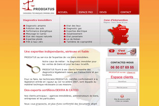 Prodiatus - Expertise-diagnostic-immobilier.fr