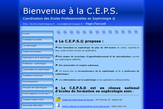 Ecole professionnelle sophrologie