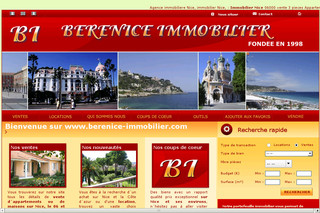 Berenice-immobilier.com - Agence Immobiliere Berenice - Immobilier Nice