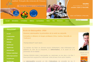 Ifsh-france.com - Formation naturopathie pour devenir naturopathe