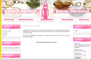Bijouxfantaisies18.com - Vente de colliers : Bijoux Fantaisies