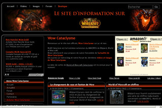 World of Warcraft Cataclysme - Wow-cataclysm.fr