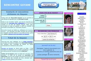Site de rencontre de la guyane