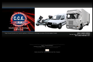 Cergy-courses-express.fr - Transport coursier Paris Ile de France Cergy Pontoise