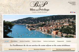 Blissandprivilege.com - Conciergerie privée luxe de Saint-Tropez à Monaco Bliss and Privilege