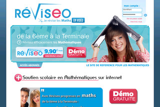 Exercices de maths avec Reviseo.com