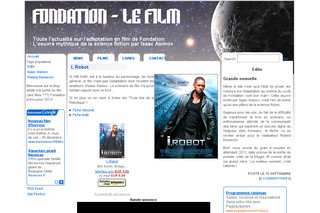 "Fondation-lefilm.com | Adaptation en film du ""Cycle de Fondation"" d'Isaac Asimov"