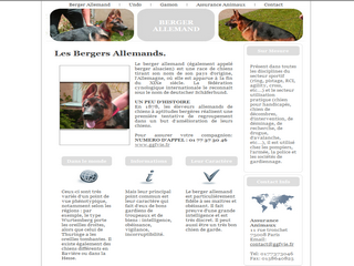 Bergerallemand.me - Les origines du berger allemand