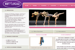 Bodylangage.fr - Articles de Danse
