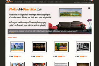 Achat en ligne de photos d'art - Photos-art-decoration.com