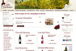 Vins et cadeaux vente de vin et alcool en ligne - Meilleur site de vente privee en ligne ...