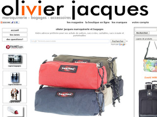 Olivier Jacques maroquinerie - bagages - sacs - Olivier-jacques.com