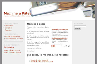 Machine à pâtes fraîches - Machine-pates.com