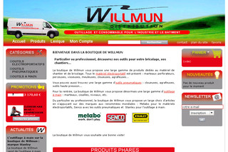 La boutique de Willmun, vente d'outils - Laboutiquedewillmun.fr