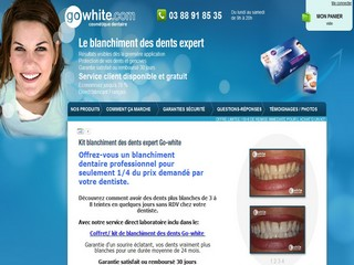 Blanchiment des dents avec Blanchiment-des-dents.com