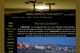 Immomarinataghazout.com - Agence immobilière