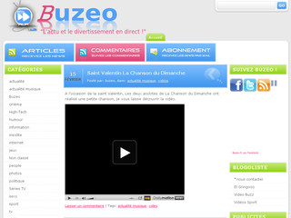 Buzeo.fr - Blog media