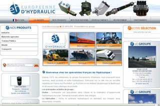 Europeennedhydraulic.com : Services et équipements hydrauliques