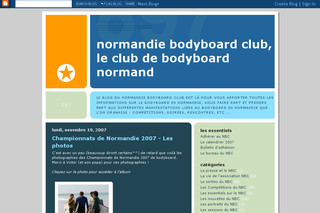 Normandie Bodyboard Club : blog-nbc.blogspot.com