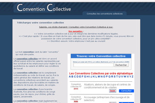 Ma-convention-collective.net