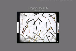 Francis Bacon photographe professionnel - Francisbacon-photographies.fr