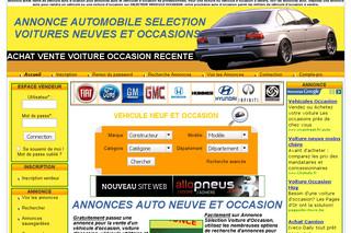 site annonce auto
