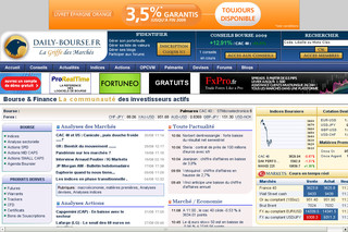Daily-bourse.fr : Bourse Trading et Analyse Technique