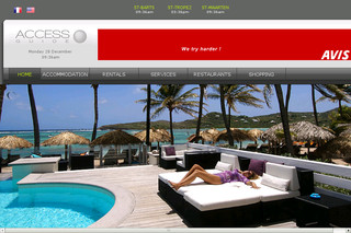 Access-stbarth.com - Locations de villas, chambres et maisons à Saint Barthelemy