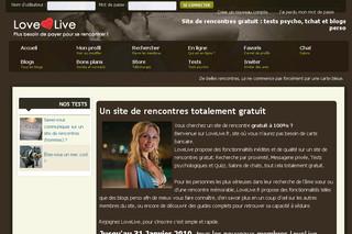 Site de rencontres gratuit : Lovelive - Sites de rencontre - bellememesanscheveux.fr