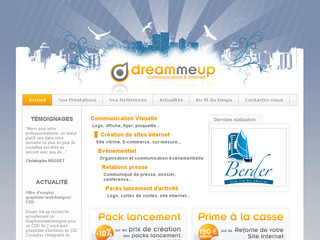 Dream me up - Communication et Internet - Dream-me-up.fr