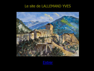 Lallemand Yves - Peintre