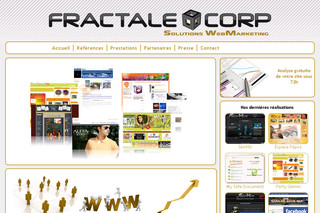 Fractale Corp : Solutions Webmarketing