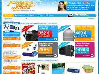 Accessoires et mat riel piscine discount for Piscine poolman