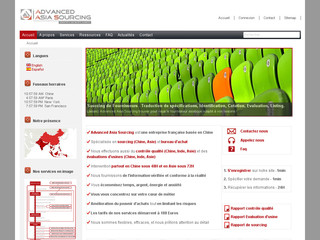 Advancedasiasourcing.fr - Sourcing Chine, import asie, acheter en chine dans les usines